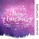 christmas and new year... | Shutterstock .eps vector #526716856
