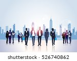 business people group... | Shutterstock .eps vector #526740862