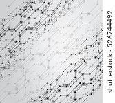 gray background for design the... | Shutterstock .eps vector #526744492