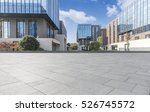 empty floor with modern... | Shutterstock . vector #526745572