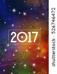 astronomy new year 2017... | Shutterstock .eps vector #526746472