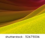 Backgrounds collection - Yellow crust and purple skies - stock photo