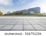 empty floor with modern... | Shutterstock . vector #526751236