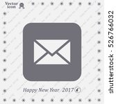 mail icon. vector | Shutterstock .eps vector #526766032