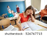 education  bullying  conflict ... | Shutterstock . vector #526767715