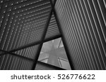 pitched roof or ceiling.... | Shutterstock . vector #526776622