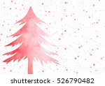 christmas background   red... | Shutterstock . vector #526790482