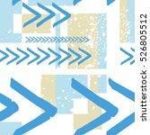 geometric seamless pattern... | Shutterstock .eps vector #526805512