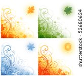 Four Seasons Background