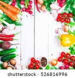 beautiful background healthy... | Shutterstock . vector #526816996