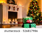some nice christmas presents in ... | Shutterstock . vector #526817986