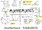 mathematics math algebra... | Shutterstock . vector #526818076