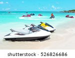 Jet Ski's In The Caribbean Sea...