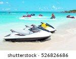 Jet Ski's In The Caribbean Sea...