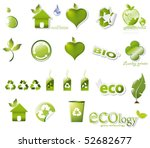 big eco set | Shutterstock .eps vector #52682677