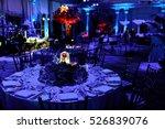 glass cover hides illuminated...   Shutterstock . vector #526839076