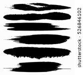design elements of black... | Shutterstock .eps vector #526846102