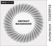 design spiral backdrop.... | Shutterstock .eps vector #526858918