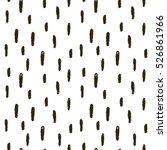 vector memphis doodle pattern ... | Shutterstock .eps vector #526861966