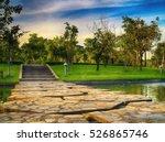 The Natural Stone Bridge Acros...