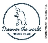 pangkor island map outline.... | Shutterstock .eps vector #526889716