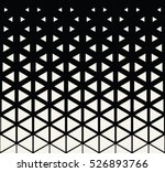 abstract geometric black and... | Shutterstock .eps vector #526893766