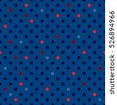 vector dot pattern. geometric... | Shutterstock .eps vector #526894966