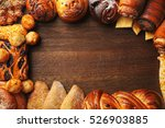 frame of assorted fresh... | Shutterstock . vector #526903885