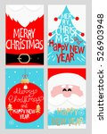 santa's message banners. merry... | Shutterstock .eps vector #526903948