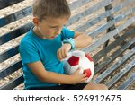 child with smartwatch | Shutterstock . vector #526912675