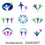 community  network and social...   Shutterstock .eps vector #52693207
