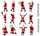Santa Claus In Full Growth....