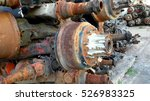car spare parts | Shutterstock . vector #526983325
