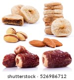 nuts and dry fruits | Shutterstock . vector #526986712