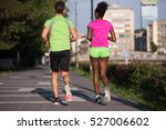 healthy young multiethnic... | Shutterstock . vector #527006602