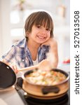 cute adorable little boy in the ... | Shutterstock . vector #527013508