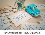 the concept of saving money....   Shutterstock . vector #527016916