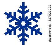 raster illustration. snowflake... | Shutterstock . vector #527023222