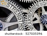 macro photo of tooth wheel... | Shutterstock . vector #527035396