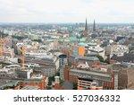 hamburg cityscape. the city  is ... | Shutterstock . vector #527036332