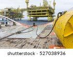 anchor handling activities with ... | Shutterstock . vector #527038936