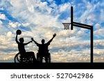 disabled sportsman in...   Shutterstock . vector #527042986