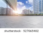 empty floor with modern... | Shutterstock . vector #527065402