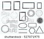blank postal stamps set...   Shutterstock .eps vector #527071975