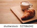 cappuccino with beautiful latte ... | Shutterstock . vector #527086342