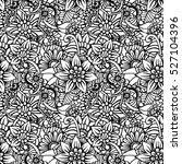 pattern for coloring book.... | Shutterstock .eps vector #527104396