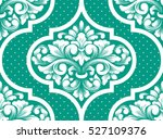 vector damask seamless pattern... | Shutterstock .eps vector #527109376