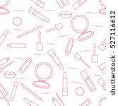 seamless pattern of different...   Shutterstock .eps vector #527116612