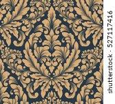 vector damask seamless pattern...   Shutterstock .eps vector #527117416