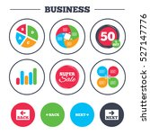 business pie chart. growth...
